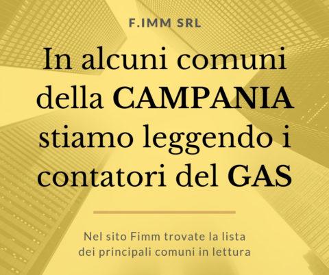 Lettura contatori Gas Campania